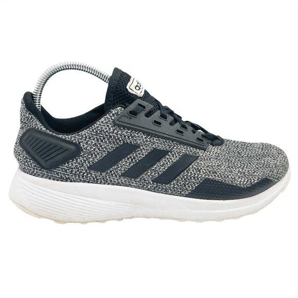Adidas Black Gray Low Top Run Sneakers